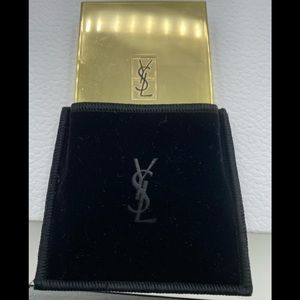 New YSL Powder, velvet bag. makeup brush,/…